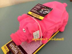 Multipet Origami Latex Pig large 8 inch dog toy Color Choice