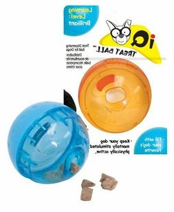 OurPet's Smarter Interactive IQ Treat Ball Dog Toy Free Ship