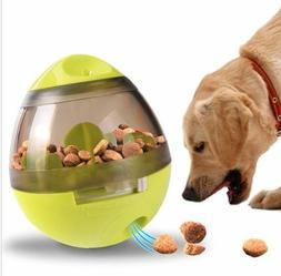 Pet Dog Interactive Tumbler Food Dispenser Feeder IQ Puzzle