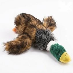 Pet Dog Puppy Squeaker Squeaky Cord Mop Duck Play Sound Toys