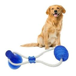 Dog Ball Toy Floor Suction Cup Ball For Cat Pet Teeth Cleani