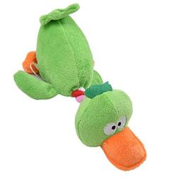CHOUWUED Pet Puppy Dog Toys Plush Duck Shaped Sound Squeaker