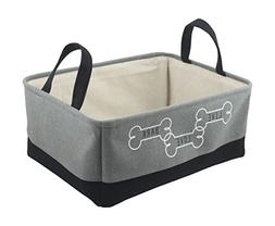 Winifred & Lily Pet Toy and Accessory Storage Bin, Organizer