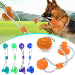 Pet Toy Molar Bite Toy Dog Tug Rope Ball Chew Toys Pet Tooth