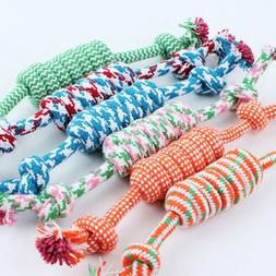 Pet Toys for Dog Chew Knot Cotton Bone Rope Puppy Dog Toy Do
