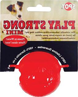 SPOT Play Strong Mini Rubber Ball Small Red