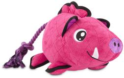 Leaps & Bounds Playtime Pal Tough Boar Dog Toy, Large