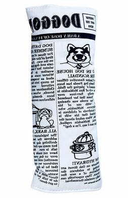 Pet Qwerks Plush Krinkle and Squeak Newspaper Interactive Do