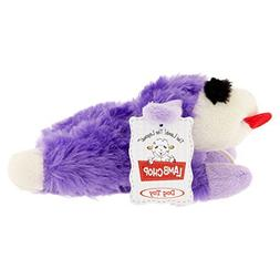 """Multipet Small Plush Lamb Chop Dog Toy \""""Color May Vary\"""""""