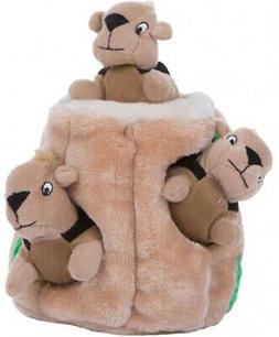 Outward Hound Plush Puppies HIDE A SQUIRREL Dog Puzzle Toy S