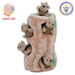 Outward Hound Plush Puppies HIDE A SQUIRREL Dog Puzzle Solvi