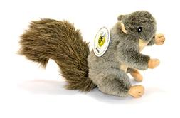 'Sebastian' Plush Squirrel Dog Toy with Squeaker by Sancho &