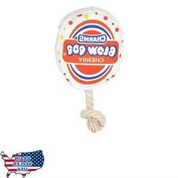 Our Pets Plush Toss & Retrieve Candy Dog Toy Blow Pop, P