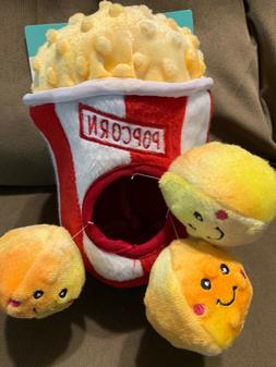 ZippyPaws  Popcorn Bucket Burrow, Dog Toy