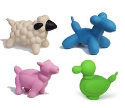 Charming Pet Products Latex Balloons Dog Toys Bundle of 5