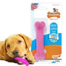 NYLABONE PUPPY CHEW TOY Pets Dogs Petite Teething Chewing Bo