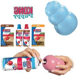 KONG Puppy Dog Toy Teething Chew Snack Easy Treat Dispenser
