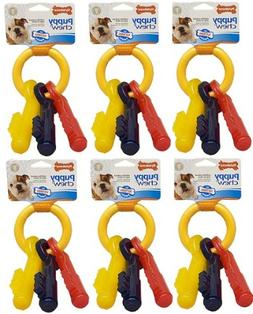 Nylabone Puppy Teething Keys Large 6 pk