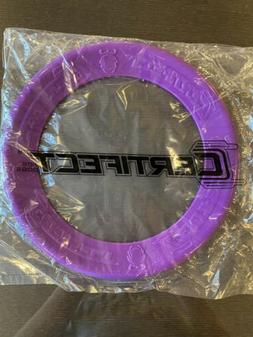 CERTIFECT Purple Ring Frisbee For DOGS! Super cool! Great fo