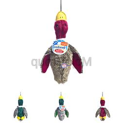 Hartz Nature's Collection Quackers Plush Duck Dog Toy - Larg