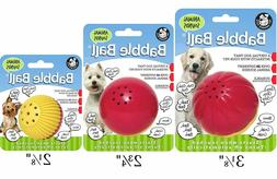 Pet Qwerks REAL ANIMALS SOUND BABBLE Ball TOUCH ACTIVATED In