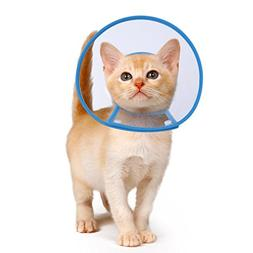 PETBABA Recovery Collar, Clear Cone Not Block Vision, Soft P