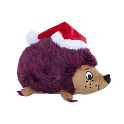 Outward Hound Medium Red Holiday Hedgehogz Dog Toy