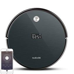 Minibot Robot Vacuum Cleaner with Max Power Suction,Wifi Con