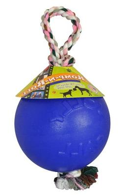 Romp N Roll 8 inch Dog Ball Blue