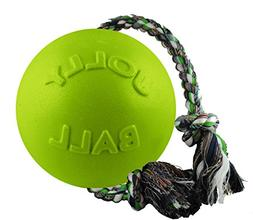 """Jolly Pets 4.5"""" Romp-n-Roll Dog Toy, Small, Apple"""