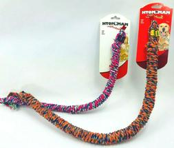 Mammoth Rope Toy for Dogs SnakeBiters Help with Dental Hygie
