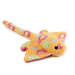 Zanies Sea Charmer Dog Toys, Orange Stingray, 11""