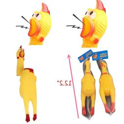 shrilling naked chicken rubber pet dog toy