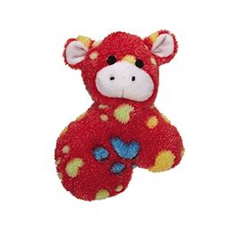 Zanies Silly Squad Dog Toys, Cow, 5""