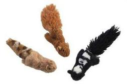 "Skinneeez Cat Toys, 3"" Forested, Creature May Vary"
