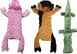 Ethical Pets Skinneeez Extreme Stuffing Free Crocodile, Cow,