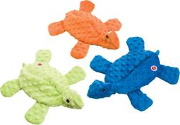 Ethical Pets Skinneeez Extreme Stuffingless Turtle Dog Toy,