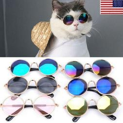 Small Pet Dog Sunglasses Glasses Cat Toy Kitten Outfit Funny