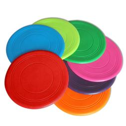 Soft Dog Frisbee Toy Silicone Pet Race Training Throwing Fly