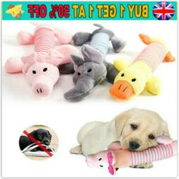 Soft Pet Puppy Cat Play Chew Sound Funny Squeaker Squeaky Cu