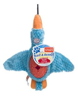 HARTZ Squeak & Treat Duck Treat Dispensing Dog Toy
