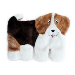 ZippyPaws Squeakie Pup 11-Squeaker No Stuffing Plush Dog Toy