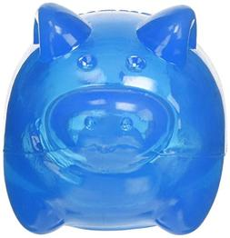 KONG Squeezz Jels Pig Squeaking Dog Toy, Large