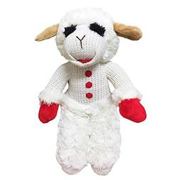 "Multipet Standing Lamb Chop 13"" Dog Toy"
