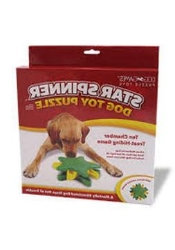Outward Hound Star Spinner Interactive Doy Toy Puzzle for Do