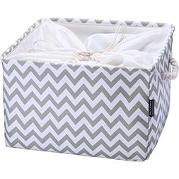 AMEON Storage Baskets,Extra Large Toy Storage Basket Fabric