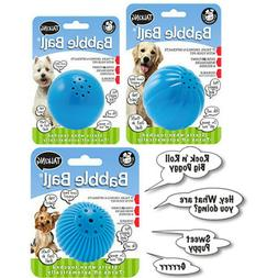 Pet Qwerks Talking Babble Ball TOUCH ACTIVATED Interactive D
