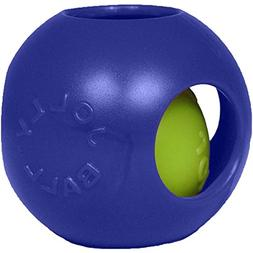 Jolly Pets Teaser Ball Dog Toy Blue 4 1/2""