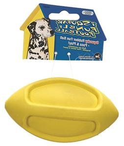 JW Pet Company Tough By Nature i Squeak Funble Football Smal