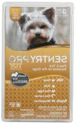 Sentry PRO Toy-Small Breed Flea & Tick for Dogs - 3 ct - 2 m